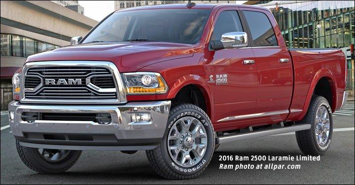 2016 Ram 2500 Laramie Limited