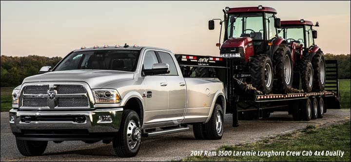 2016 Dodge Ram 3500 >> 2014 2017 Ram Heavy Duty Pickups