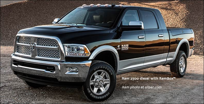 2013 Ram Heavy Duty Pickup Trucks: Ram 2500 and 3500