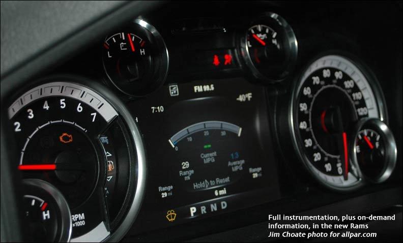 ram gauges - 2014 Dodge Ram 2500 Tradesman Interior
