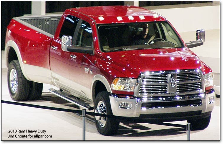 2010-2012 Dodge Ram Heavy Duty pickup trucks (2500 and 3500)