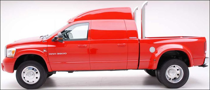 The Ram 3500 Interstate Rated can effortlessly pull a World Cup Challenge