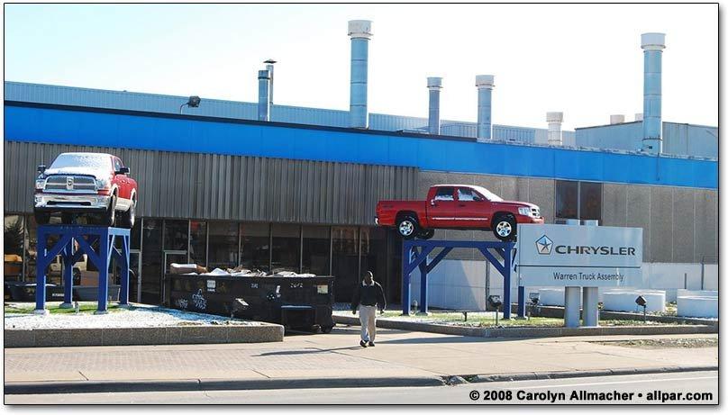 Dodge City Chrysler S Warren Truck Assembly Plant