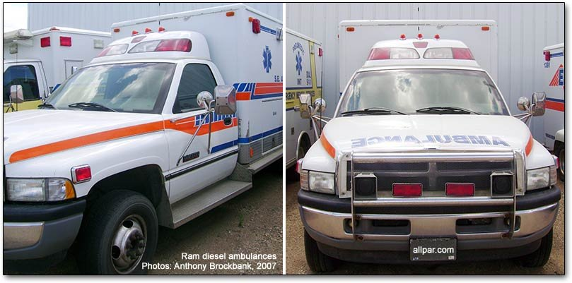 dodge ram ambulances