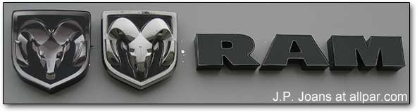 Ram dealer sign