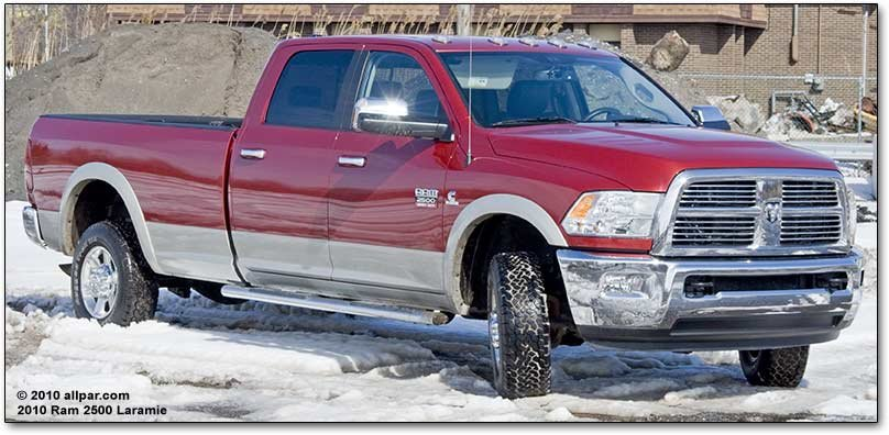 2010 Ram 2500 Laramie pickups - car review