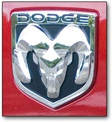 this one had separate horns and was a popular aftermarket accessory for dodge trucks well into the late 1960s see photo below a striking ram logo was - Dodge Ram Logo