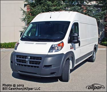 2014 Ram Promaster Quick Test Review
