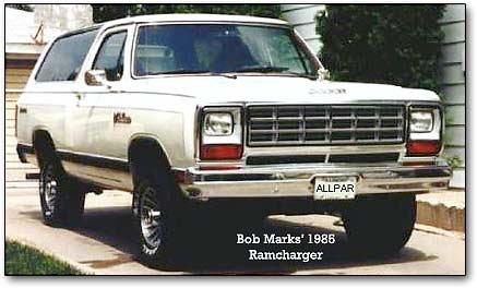 Dodge Ramcharger trucks: 1974-1993