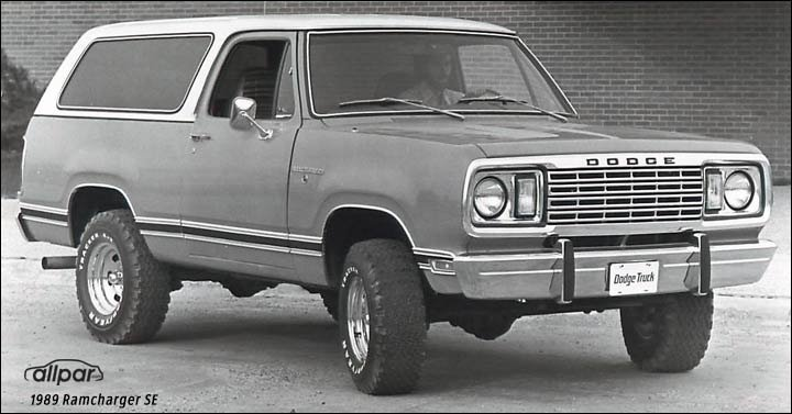 1993 Ramcharger