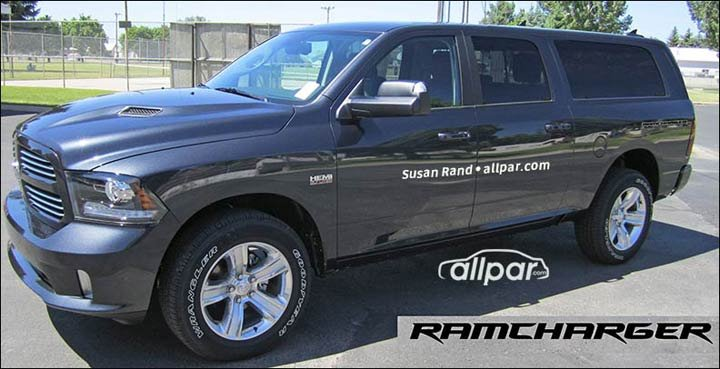 Upcoming Dodge Ram and Jeep trucks and SUVs