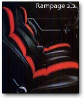 dodge rampage seats