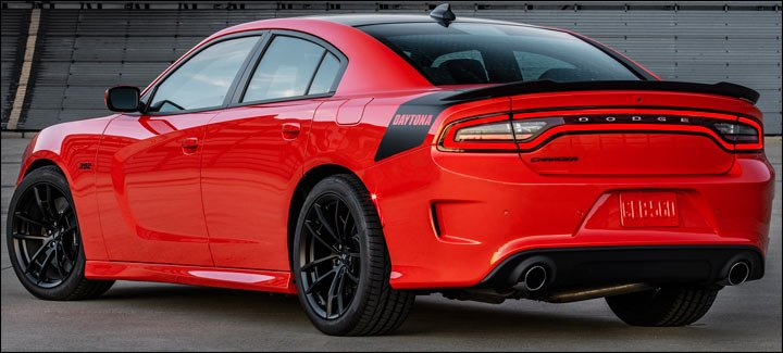 2017 Dodge Charger Daytona car - taillights
