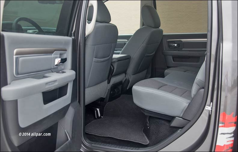 Rear Seats on Dodge Ram Aftermarket Seats