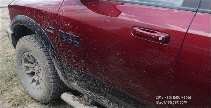 2018 Ram 1500 Rebel mud