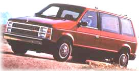 1983 Plymouth Voyager minivan