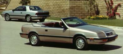 Plymouth Reliant squad car