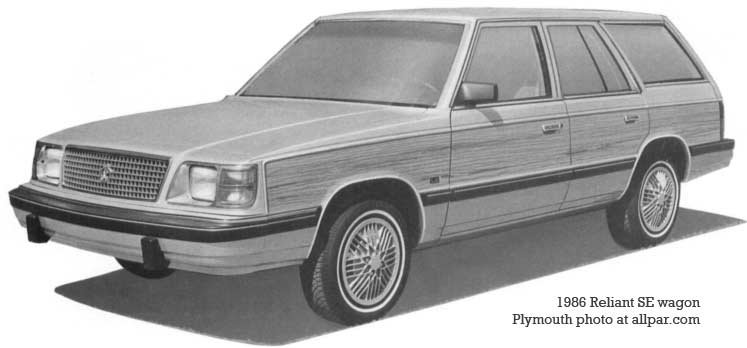 plymouht reliant wagon