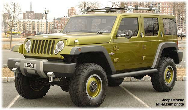 Jeep Rescue - Ram-based concept