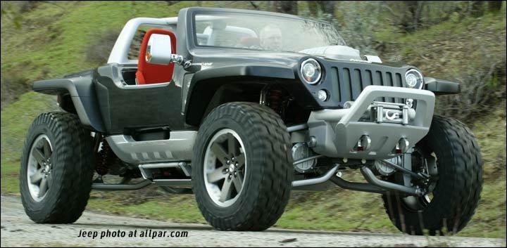 Jeep Hurricane The Awesome Dual Hemi Concept Car