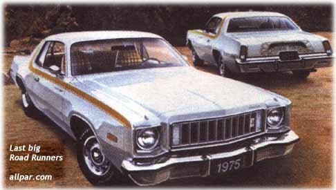 1975 Plymouth Road Runners