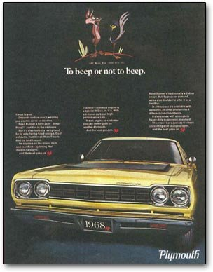 road runner ad
