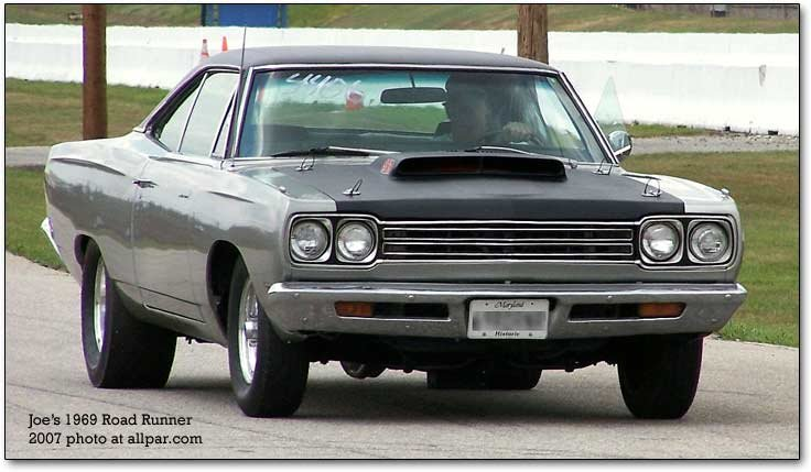 the legendary plymouth road runner and dodge super bee 1969 road runner