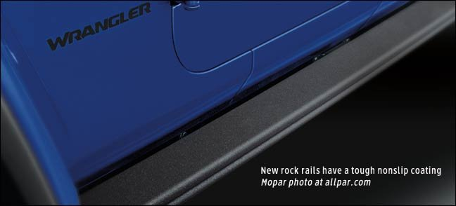nonskid rock rails