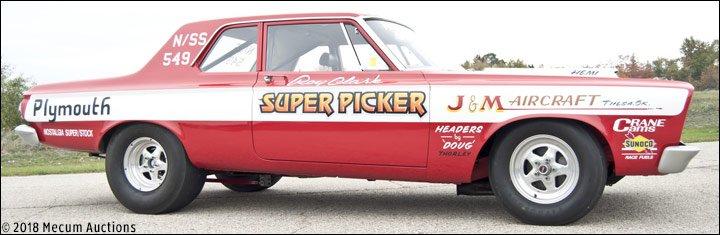 News: Roy Clark, Mopar racer