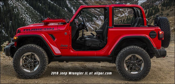 2018 Jeep Wrangler Jl Still Steel Still Capable After