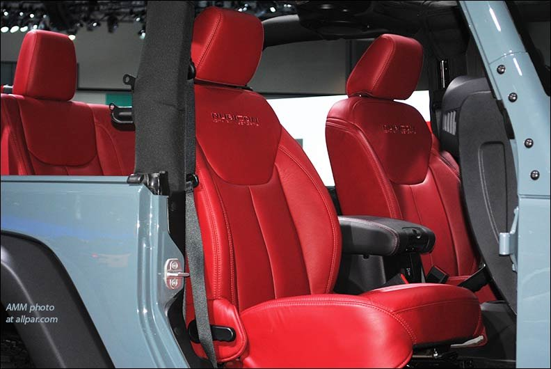 rubicon seats