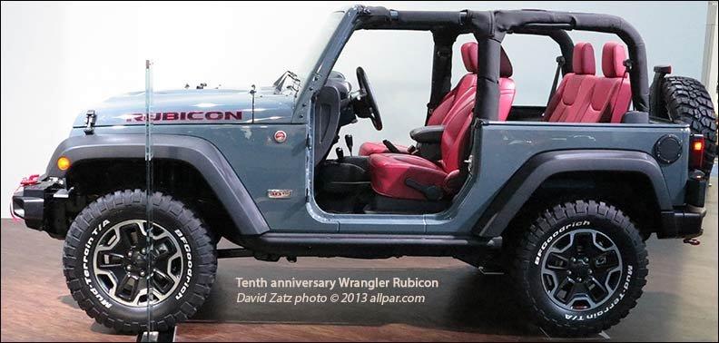 2013 Jeep Wrangler Tenth Anniversary Rubicon