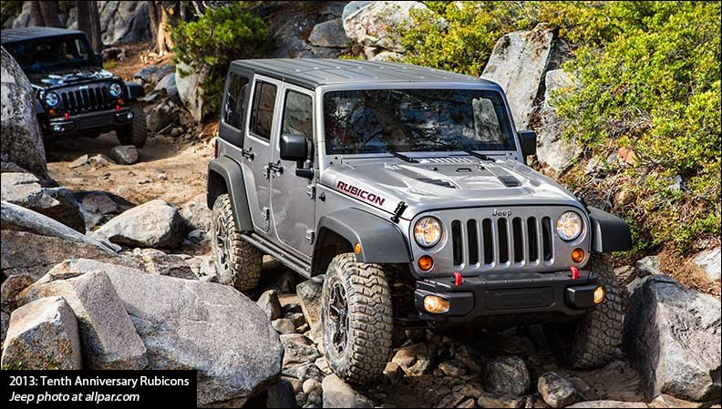 ... 2013 In Both Two Door And Four Door Versions, It Is Based On The Normal Wrangler  Rubicon / Wrangler Unlimited Rubicon. It Will Be Sold With A Six Speed ...