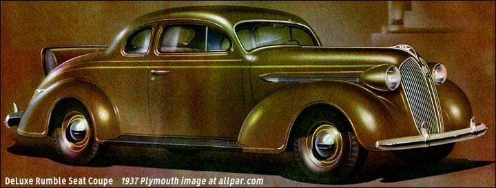 rumble seat coupe