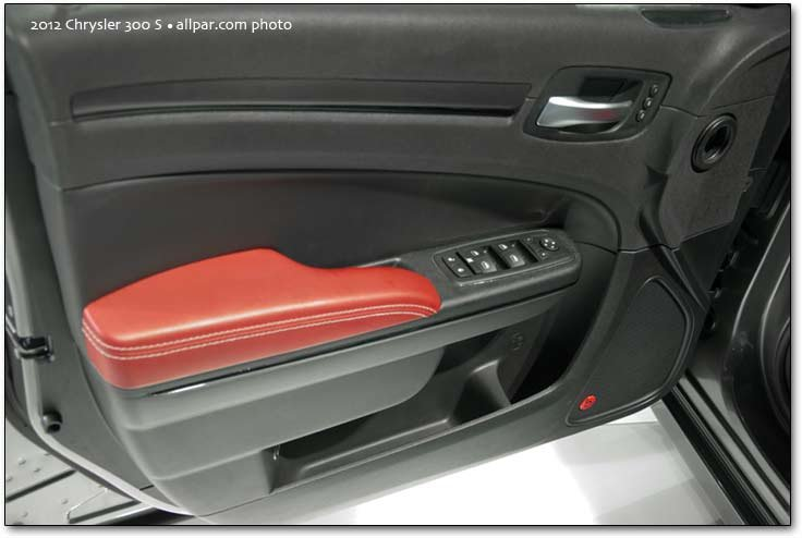 300S door Radar Red