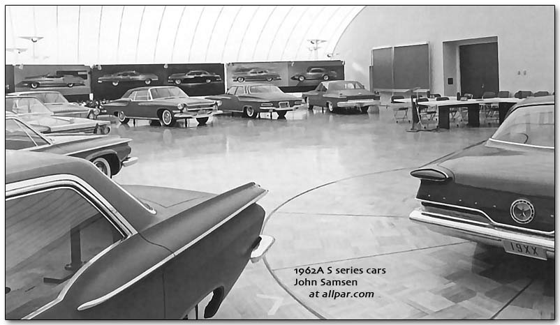 Chrysler, Plymouth, and Dodge cars of 1962 including ...