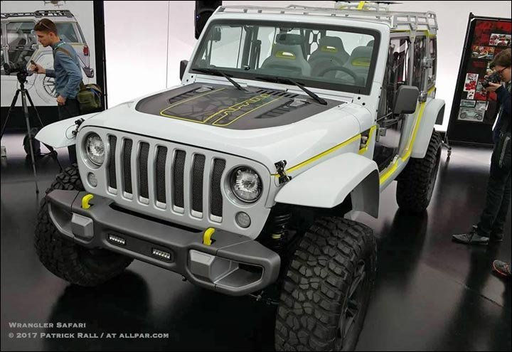 2017 Jeep Safari Concept Car For Moab Hands On