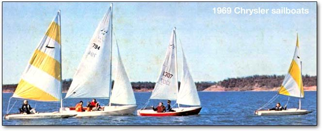 chrysler sailboats