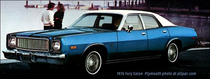 Chrysler plymouth and dodge 1976 cars trucks engines for 1976 plymouth fury salon