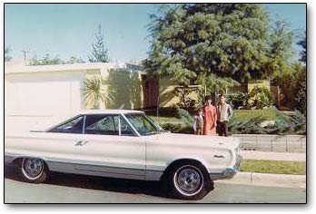 1968 Plymouth Satellite car in 1967