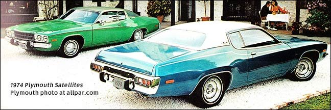 Plymouth Satellite cars