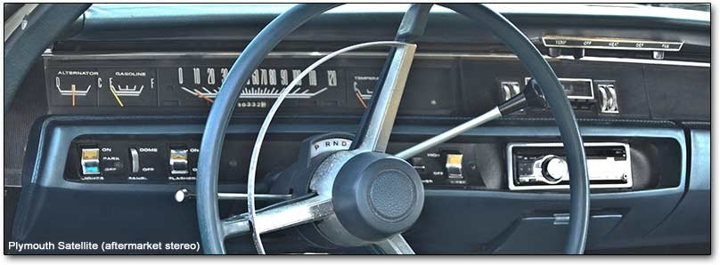 1968 plymouth satellite dashboard
