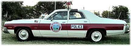 plymouth satellite police car