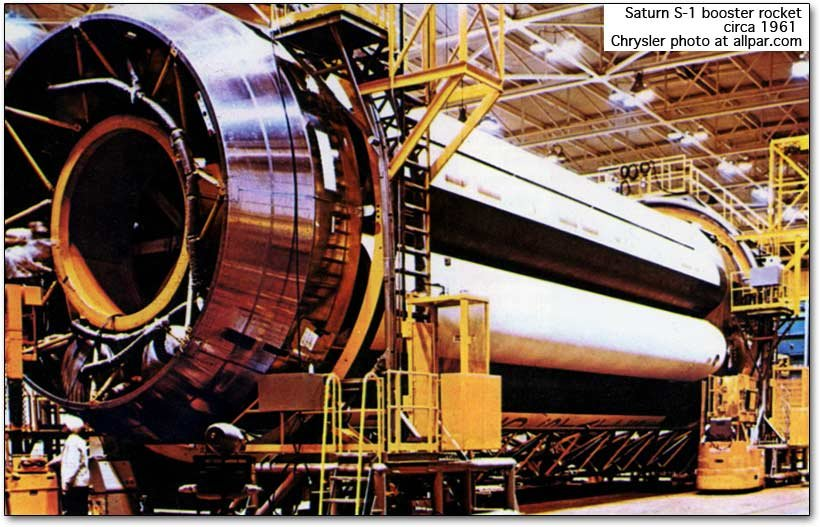 saturn rocket booster