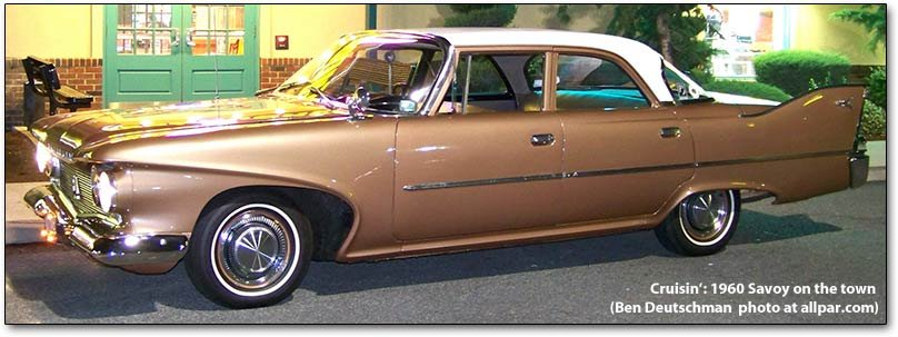 Plymouth Savoy 1951 1964 From High End To Entry Level