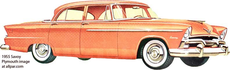 1955 Plymouth Savoy (Exner)