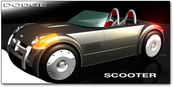 dodge scooter concept