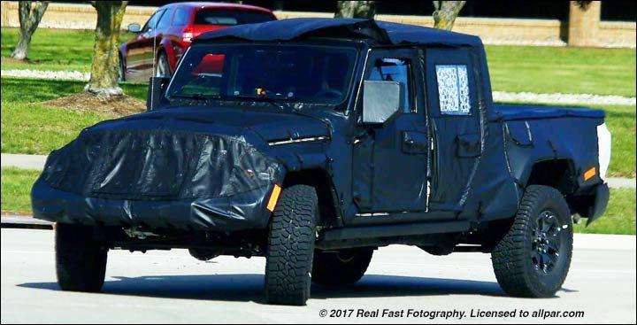 Jeep Scrambler front