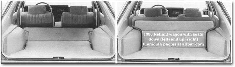 wagon seats