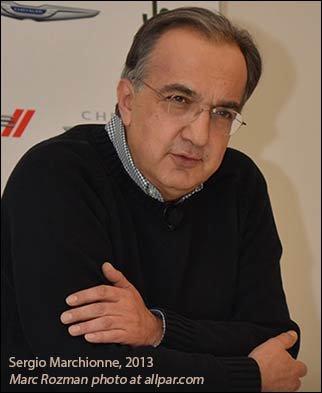 Sergio Marchionne 2013